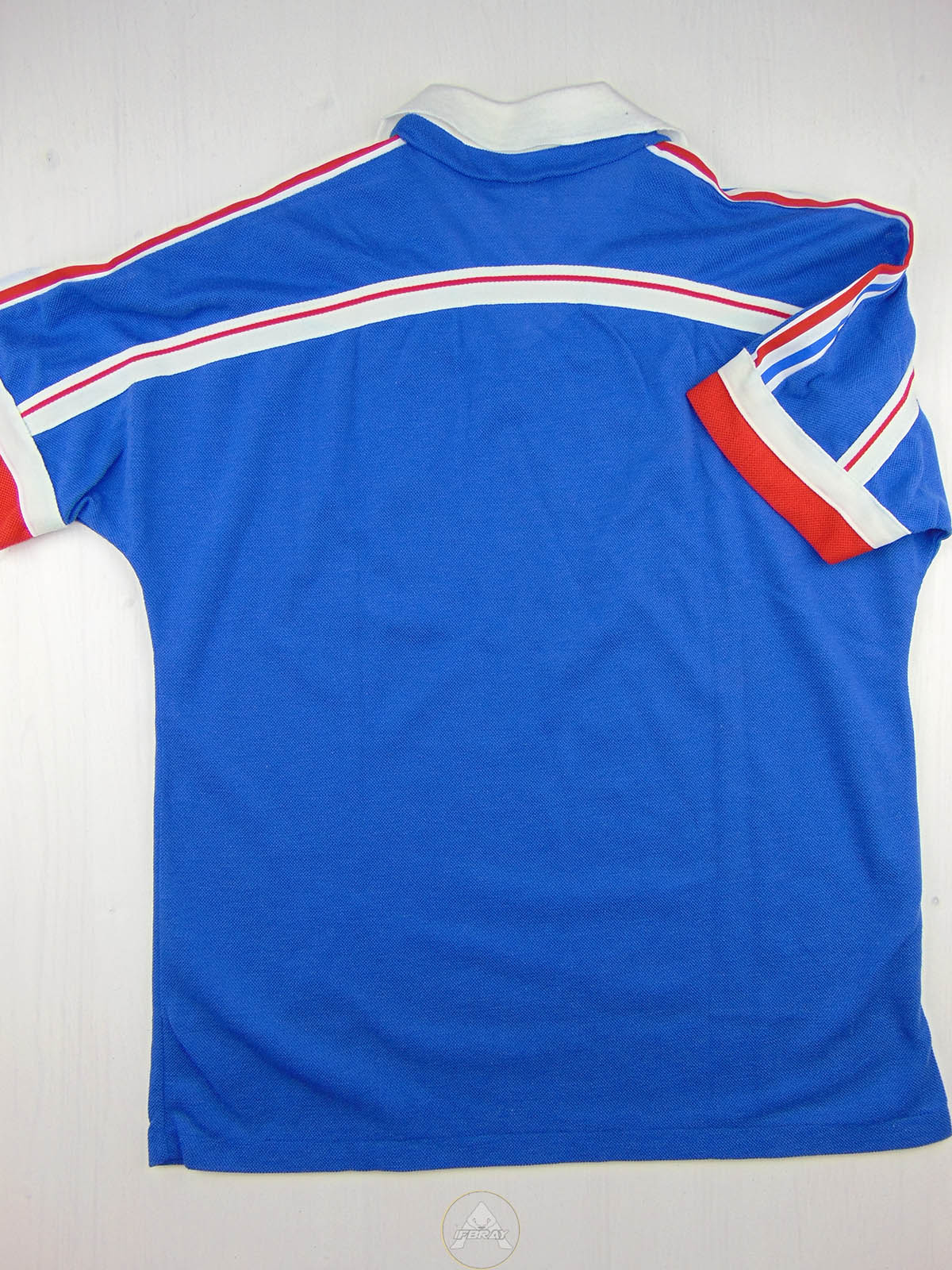 Vintage 80 adidas france t shirt soccer ifbray for Adidas classic t shirt