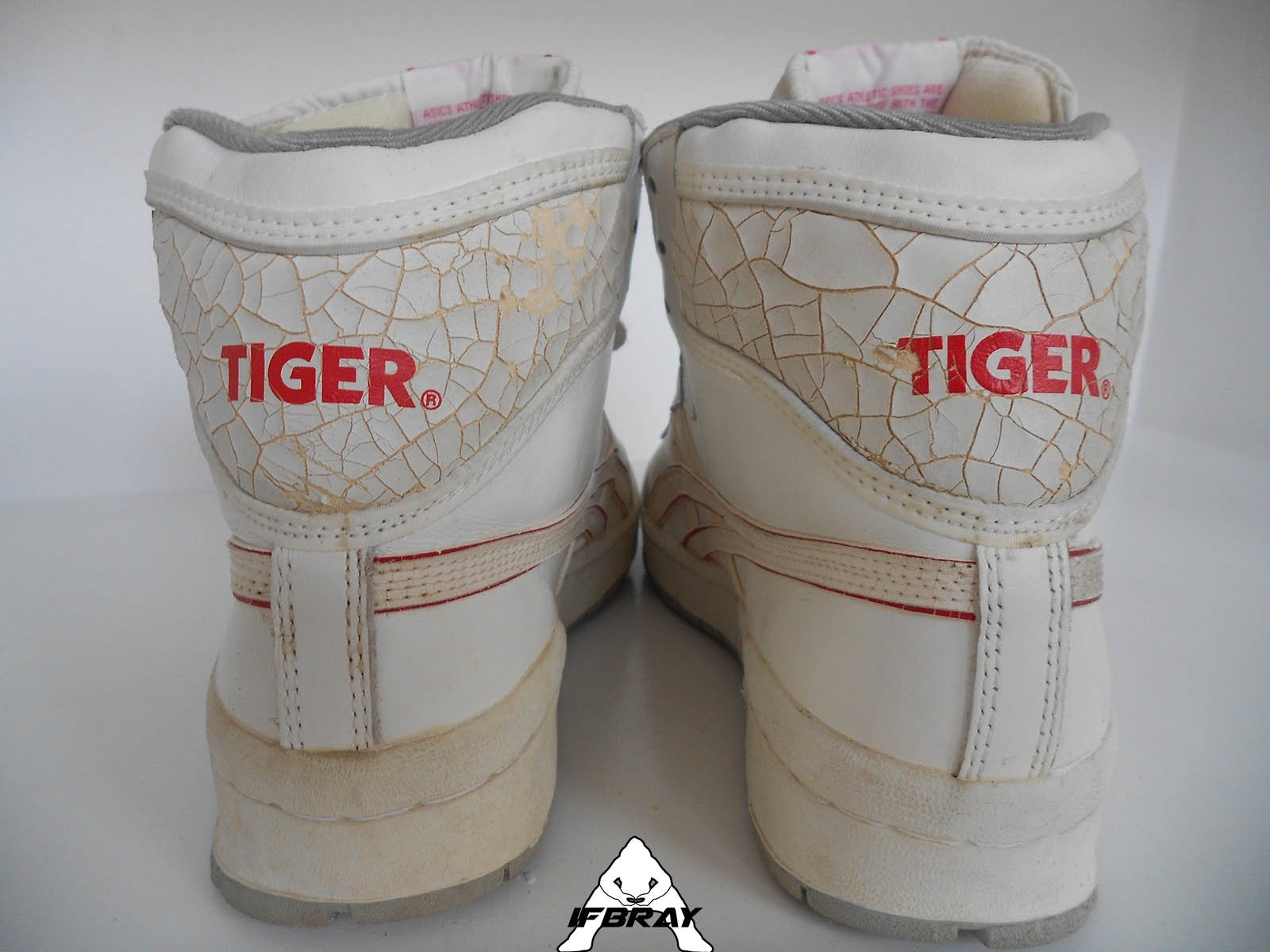 ba091a097c58 Vintage  80 Asics Onitsuka Tiger Meridian High Made in Taiwan