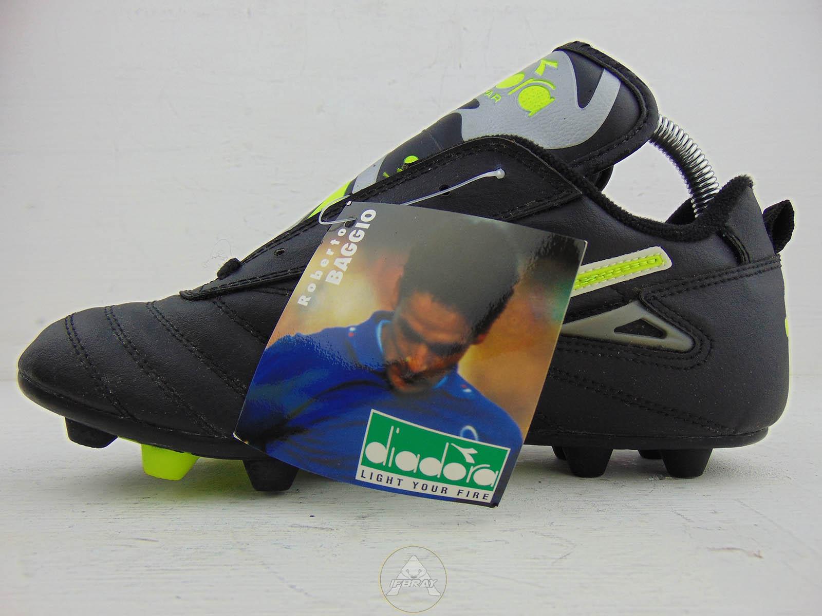 Vintage '90 Diadora Roberto Baggio Soccer Shoes – Ifbray